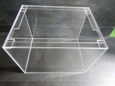 画像2: 【飼育用品・器具】【アクリル水槽】[メーカー直送]アクリル水槽 90×45×45(cm) オールクリア アクリル水槽[送料別途](淡水 海水用) (2)