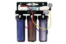 画像1: 【飼育用品・器具】【浄水器】【浄水器用加圧ポンプ】クロノスレイン専用加圧ポンプ&クロノスレイン RO 浄水器セット(淡水海水用)(サンゴ用)(メーカー保証付き) (1)