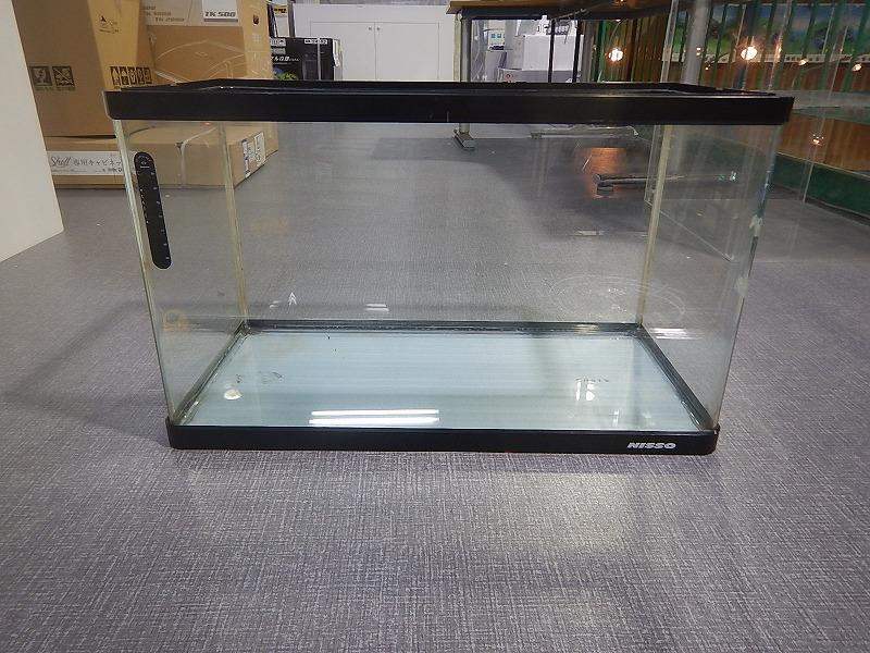 画像1: 【リユース品】【ガラス水槽】W60ガラス水槽(店頭受け渡し限定)(熱帯魚)(中古)(アクアリウム用品) (1)
