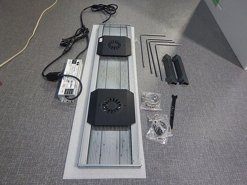 画像1: 【リユース品】【ライト】ZOOXレブロン90 超美品 (発送可能)(熱帯魚)(中古)(アクアリウム用品) (1)