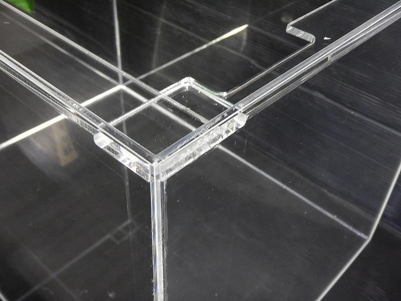 画像1: 【飼育用品・器具】【アクリル水槽】[メーカー直送]アクリル水槽 90×45×45(cm) オールクリア アクリル水槽[送料別途](淡水 海水用) (1)