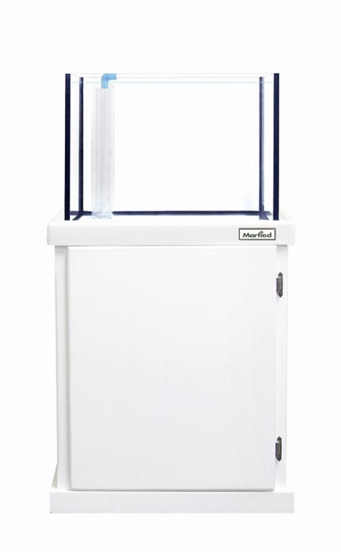 画像1: 【飼育用品・器具】【水槽】【オーバーフロー】(お取り寄せ商品)オアシス 600×450×500ホワイト オーバーフロー水槽セット(マーフィード送料別途)メーカー直送(淡水 海水用) (1)