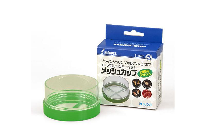 画像1: 【飼育用品・餌】 メッシュカップ【ブラインシュリンプ孵化用】 (淡水海水用) (1)
